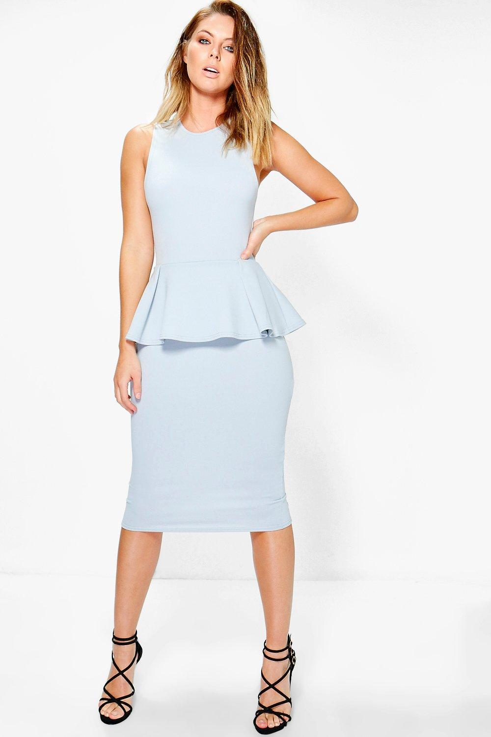 Rebecca Peplum Tailored Dress