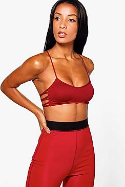 Phoebe Fit Seamless Strappy Yoga Bra