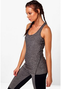 Imogen Fit Racer Back Yoga Vest