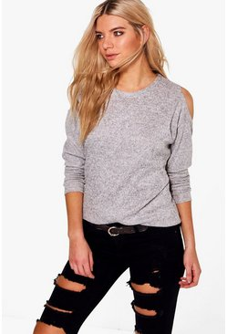 Eleanor Cold Shoulder Jumper