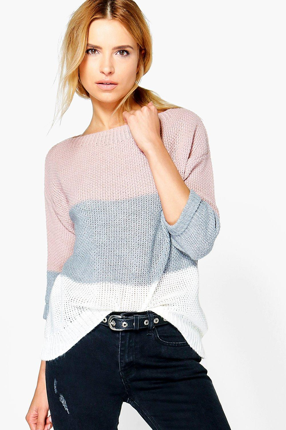 Eloise Colour Block Jumper