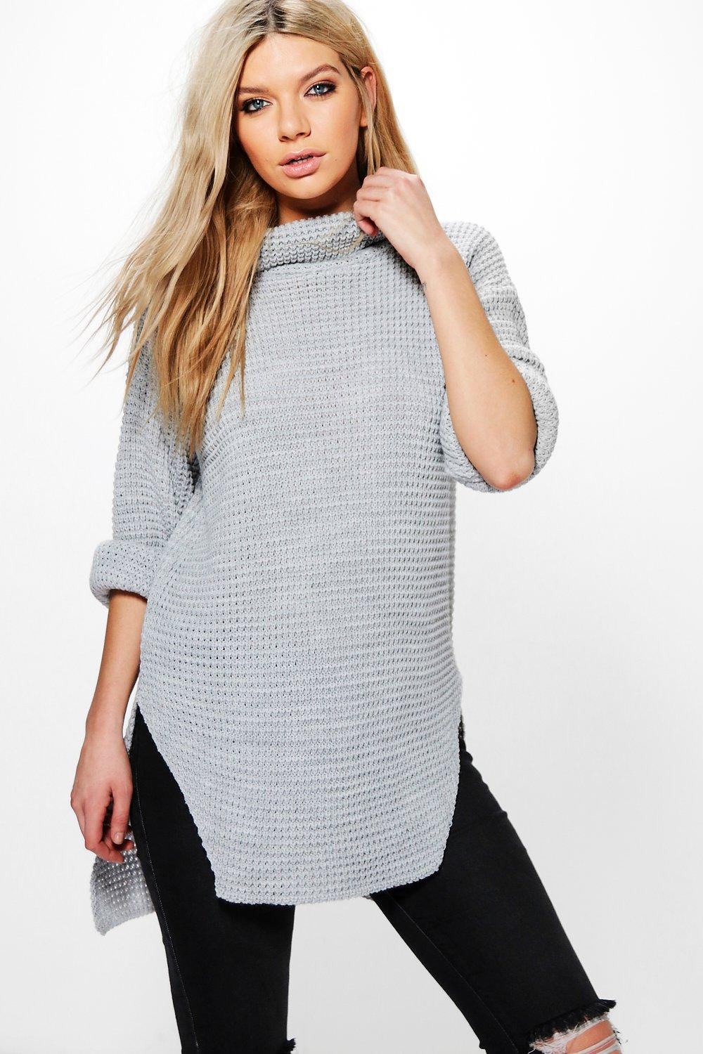 Victoria Roll Neck Tunic