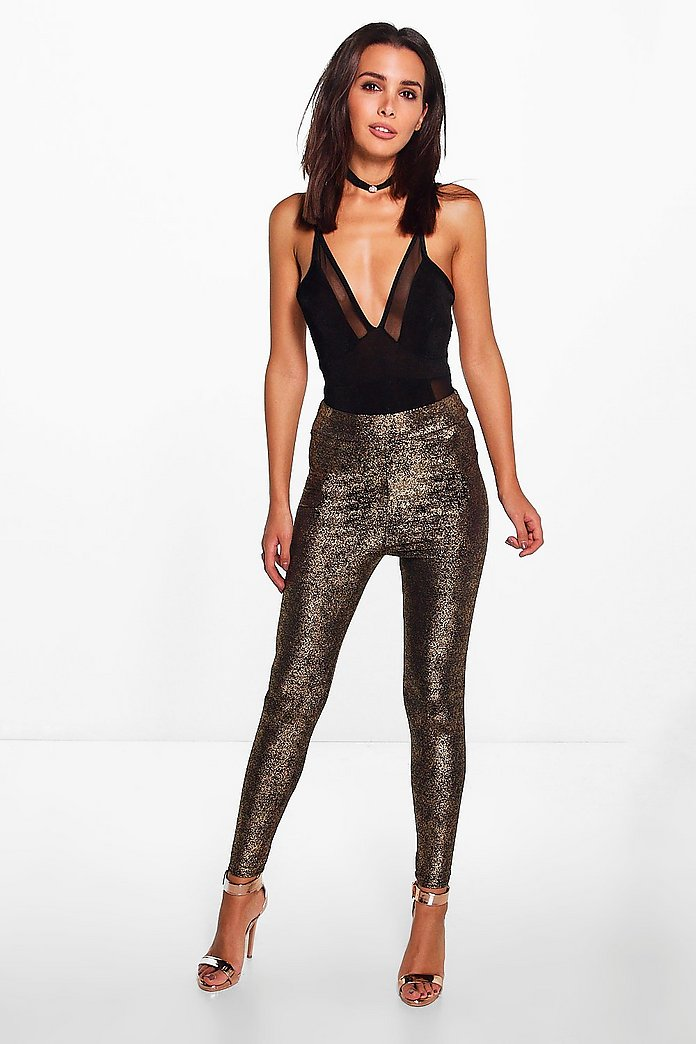 Sofie Metallic Fleck Highwaist Leggings