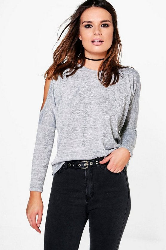Clara Cold Shoulder Jumper