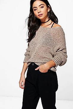 Connie Popcorn Knit Jumper