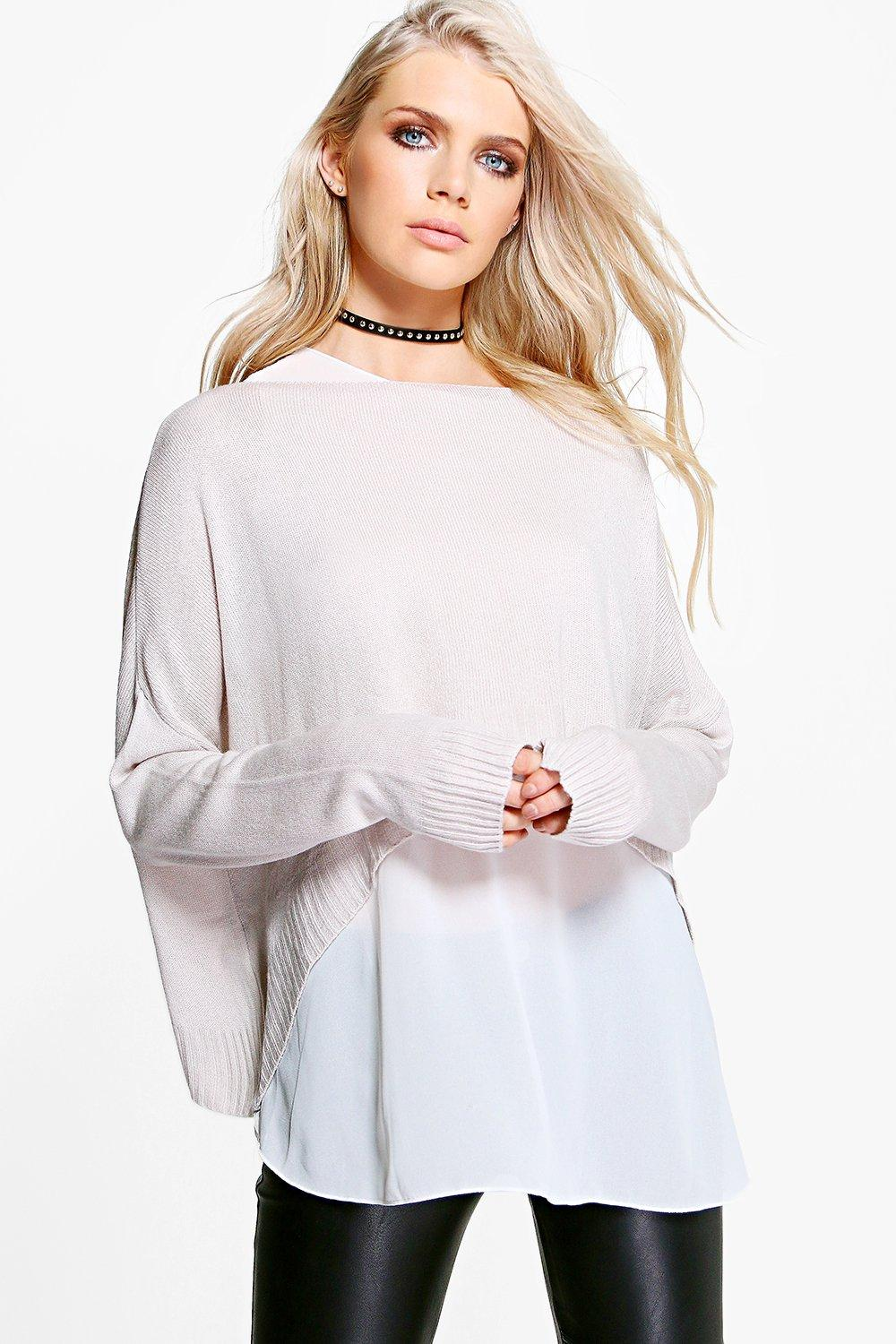 Anna Oversized Knitted 2 in 1 Jumper