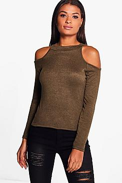 Lily Cold Shoulder Jumper