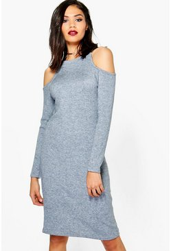 Kate Cold Shoulder Knitted Dress