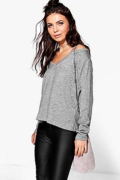 Lucy Cold Shoulder Jumper