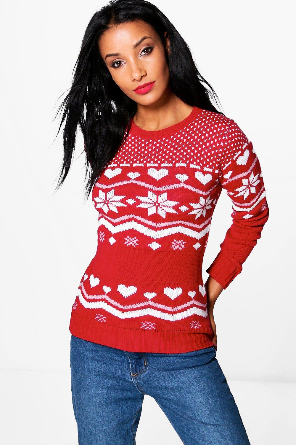 Ria Fairisle Christmas Jumper