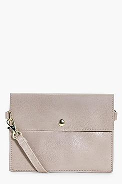 Ivy Stud Fasten Cross Body Bag