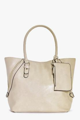 Tia Structured Day Bag With Purse Attachment