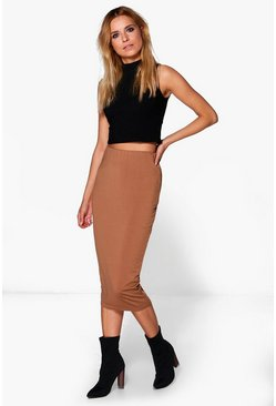 Lola Longer Length Midi Skirt
