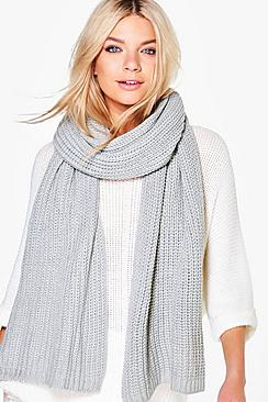 Iris Supersoft Oversize Knitted Scarf