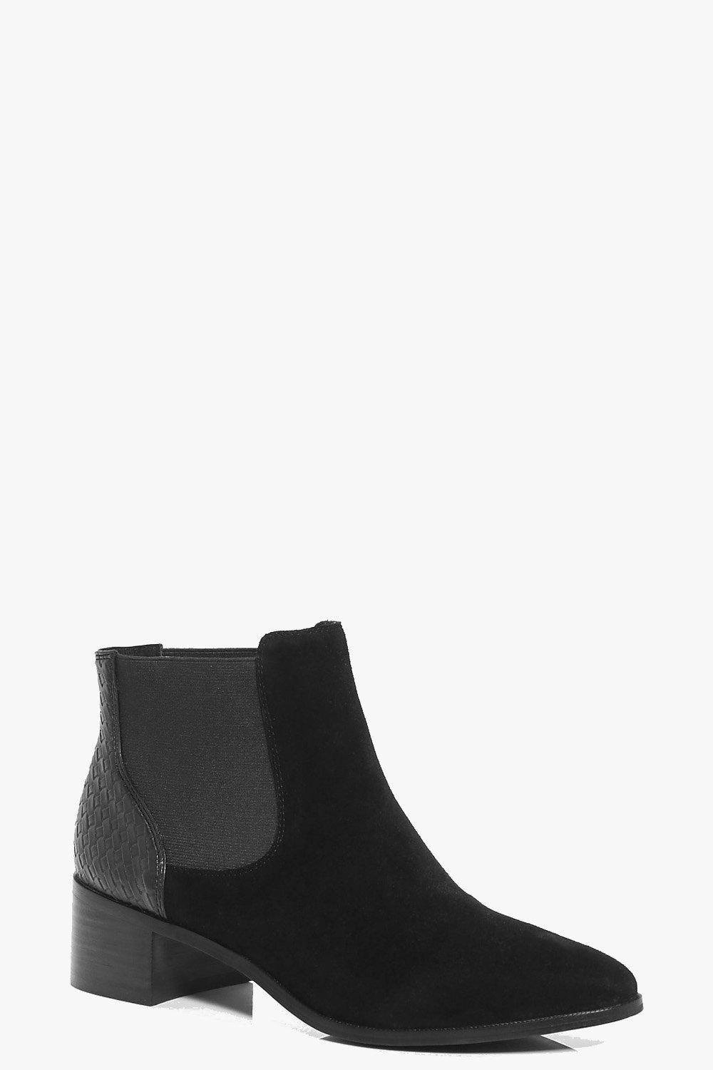 Faye Boutique Suede Chelsea Ankle Boot