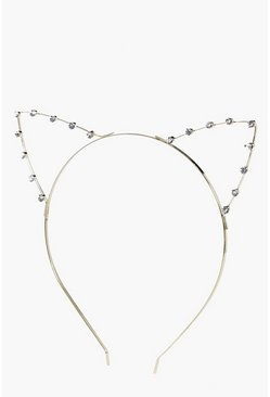 Diana Diamante Cat Ear Headband