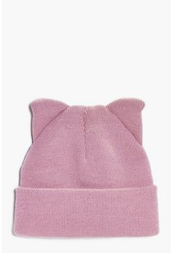 Lacey Cat Ears Beanie
