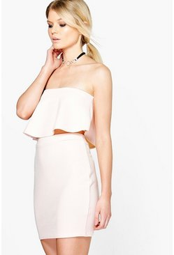 Tara Bandeau Crop & Mini Skirt Co-Ord