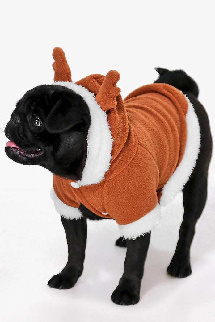 Novelty Christmas Dog Reindeer Outfit