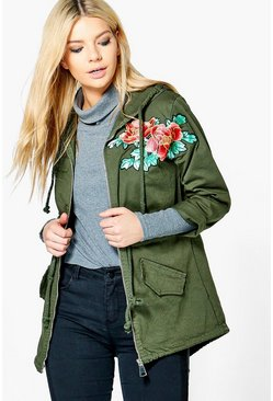 Millie Embroidered Parka
