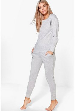 Leila Soft Marl Knit Lounge Set