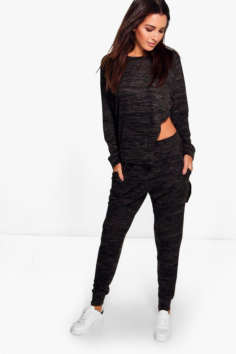 Alice Asymmetric Jumper & Jogger Lounge Set