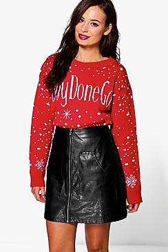 Charlotte #Boydonegood Christmas Jumper