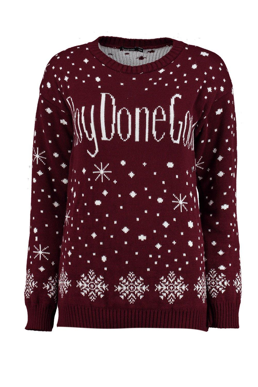 Boohoo-charlotte-pullover-natalizio-boydidgood-per-Donna