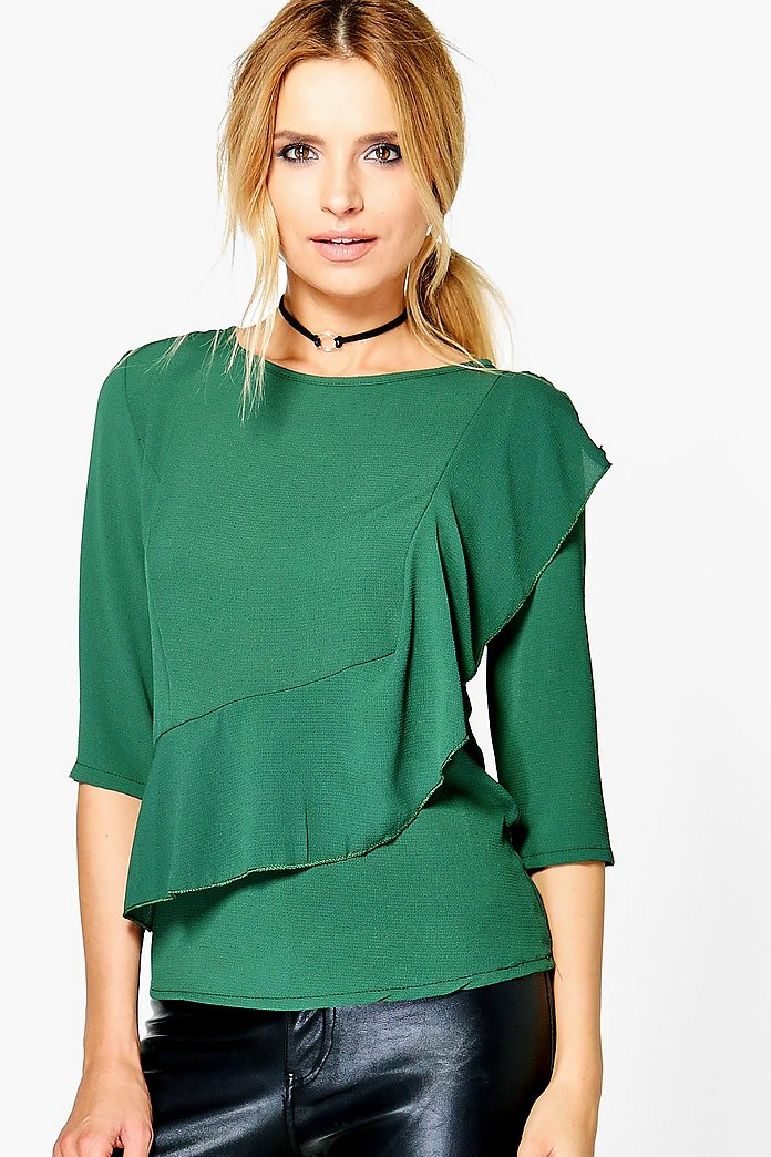Rosie Ruffle Front Blouse
