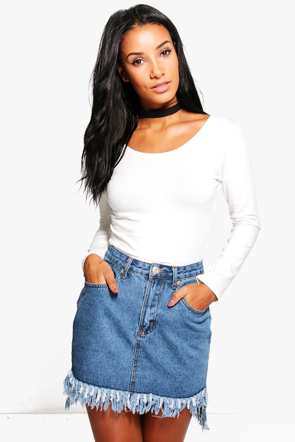 Lauren Long Sleeve Scoop Neck Top