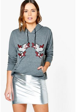 Charley Premium Embroidered Hoody