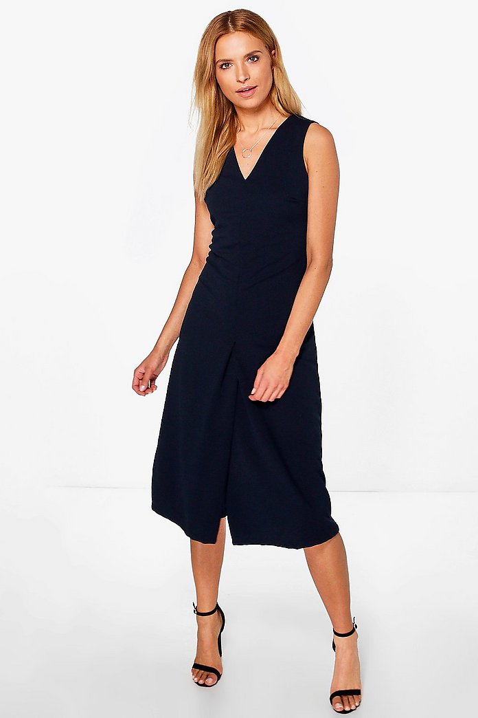 Saskia Sleeveless Tailored Jumpsuit