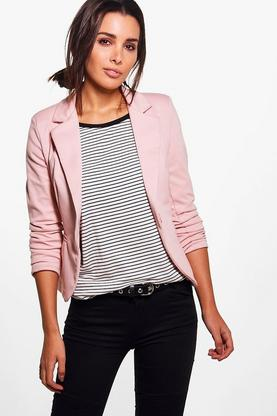 Lexi Lined Button Tailored Blazer
