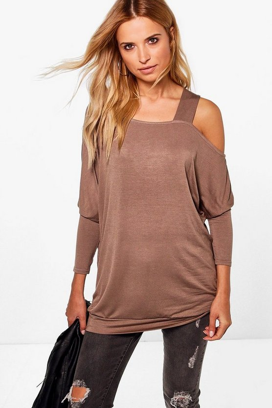 Naomi Oversized One Shoulder Tunic