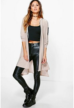 Freya Slinky Oversized Hooded Bomber