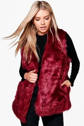 Eve Faux Fur Gilet