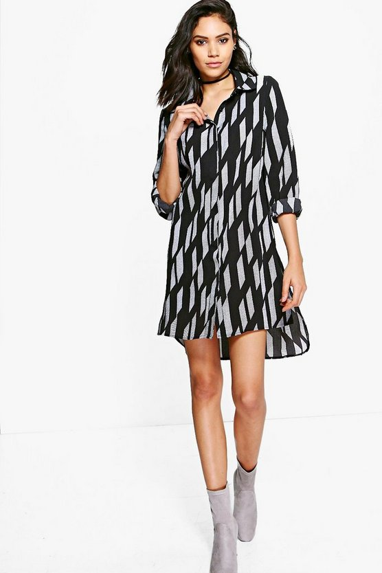 Josephina Stripe Shirt Dress
