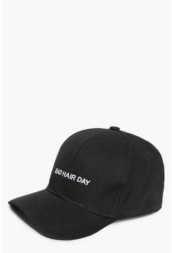 Lara Bad Hair Day Slogan Baseball Cap