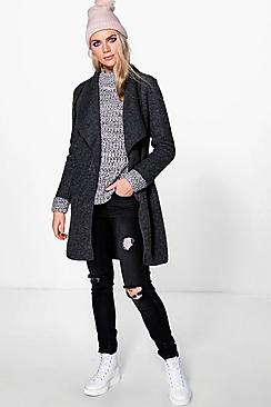 Alisha Waterfall Chuck On Coat
