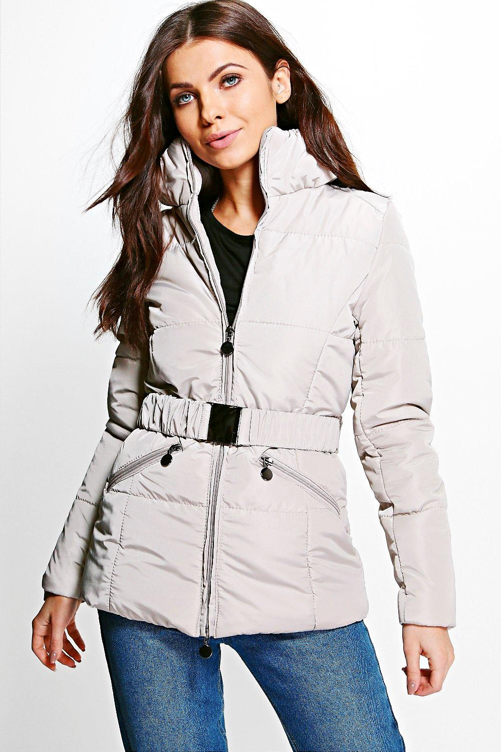Vanessa Belted Quilted Jacket