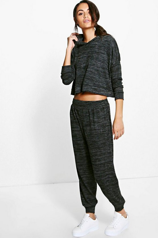 Ellie Crop Hoody & Hareem Trouser Set