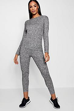 Layla Rib Knit Loungewear Set