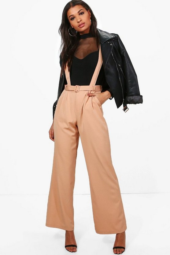 Blake Tailored Self Belt Relaxed Trousers