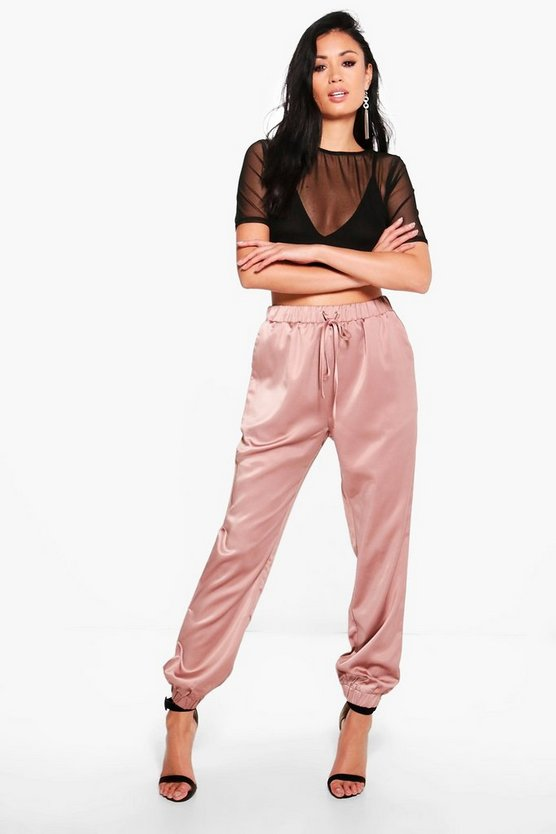 Willow Luxe Satin Joggers