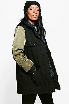 Keira Bomber Utility Jacket