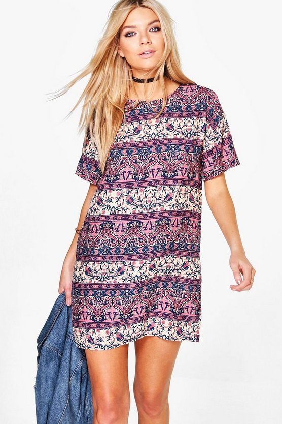 Amelia Floral Shift Dress