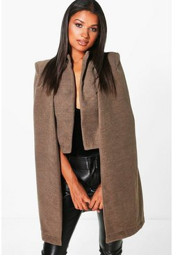 Ava Wool Look Cape