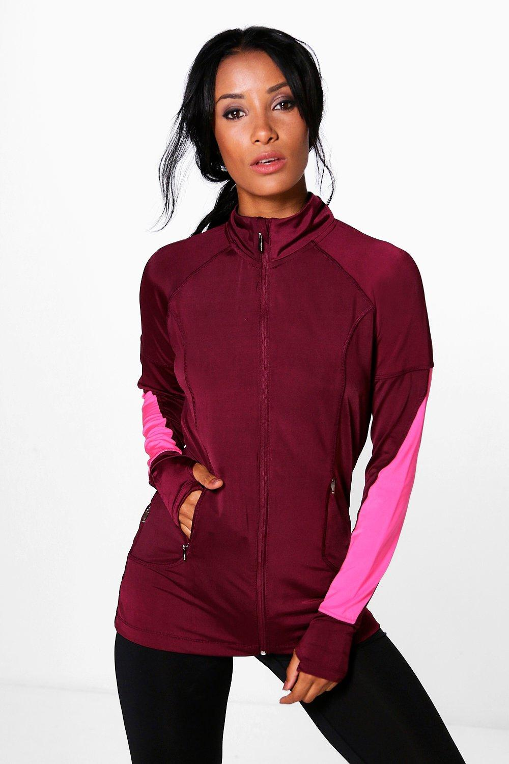 Product photo of Fit running jacket red