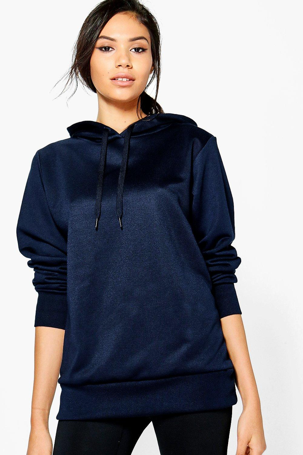 Emily Fit Running Hooded Sweat