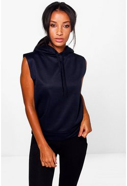 Ruby Fit Running Hooded Tank Sweat